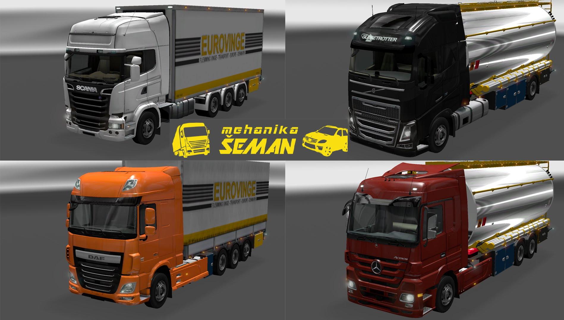 Mehanika Šeman - Servis kamiona